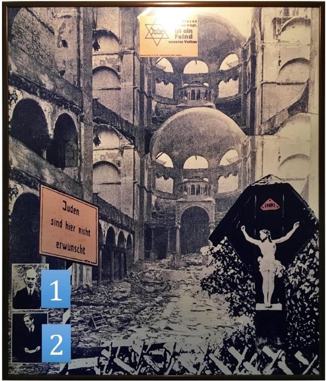 Tafel 5: Die Kirche vor der Judenfrage - Ziffern
