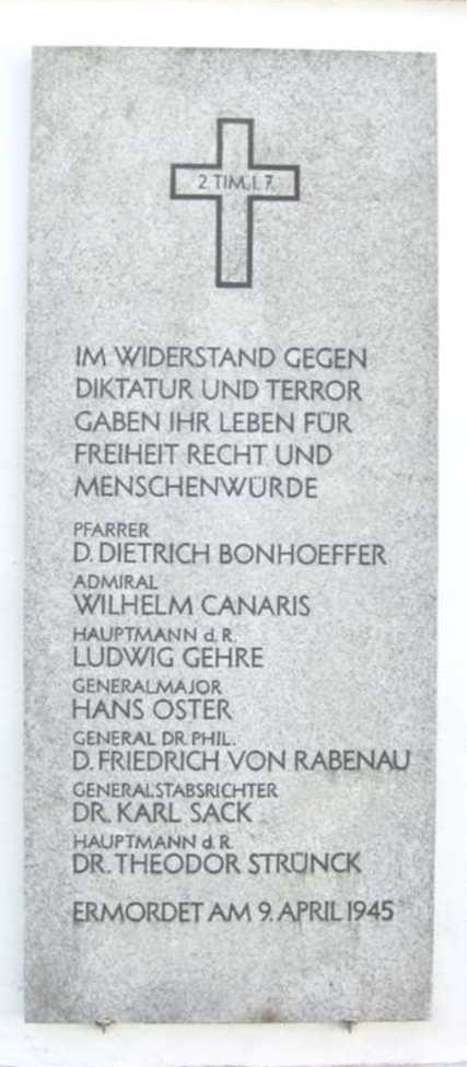 Gedenktafel Flossenbürg
